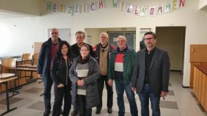 Gruppe UWG/Grüne besucht Oberschule Nord