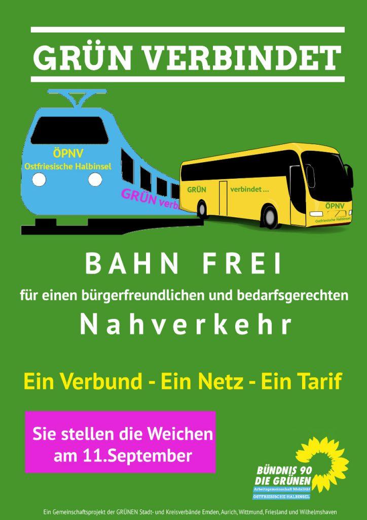 Bahn frei - Poster