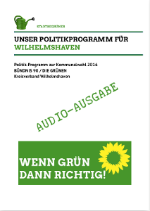 Politikprogramm - Hörversion