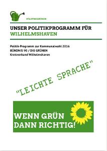 Politikprogramm - Leichte Sprache