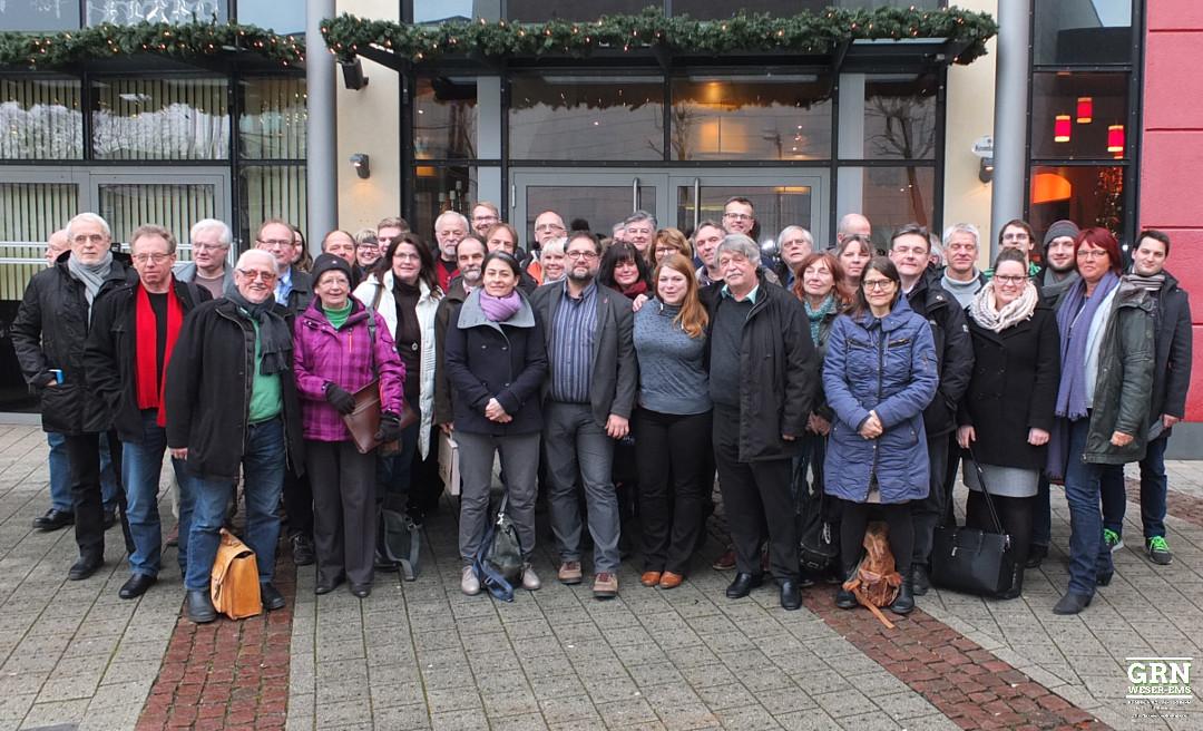 Delegierte auf der Bezirkskonferenz Weser-Ems am 21.01.2017