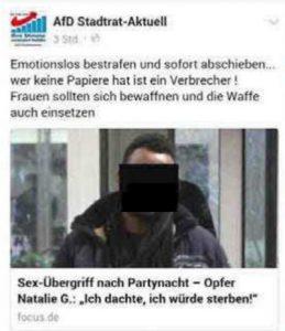 """""""AfD Stadtrat-Aktuell"""" Screenshot"""