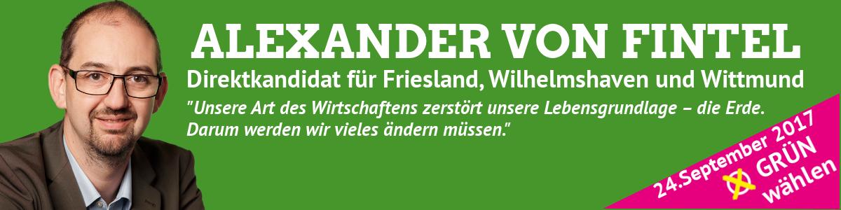 Alex von Fintel in den Bundestag