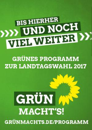 GRÜNE LTW Programm