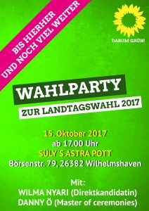 LTW-Wahlparty-Plakat