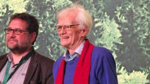 Peter Maiwald mit Hans-Christian Ströbele