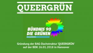 Gründung von QUEERGRÜN