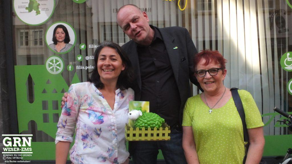 KV WHV gratuliert Filiz Polat