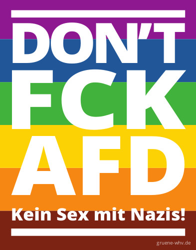 don't fuck AfD
