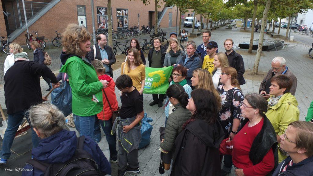 Weser-Ems-Konferenz besucht BUND Aktion
