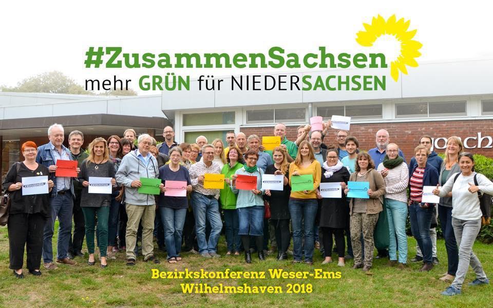 GRÜNE Weser-EMS unterstützen die Demokraten in Sachsen.
