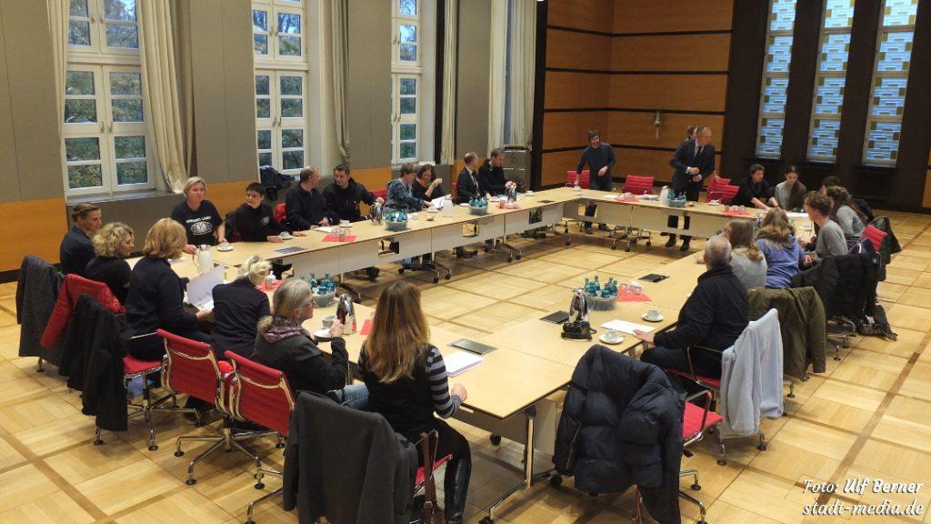 Kaffeerunde aud Preisverleihung Stadtradeln 2018