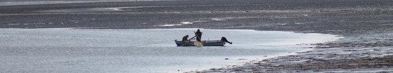Fischer im Watt