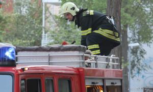 Feuerwehreinsatz | Foto Ulf Berner