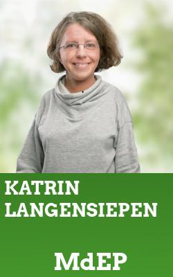 Grüne Vertreter*Innen: Katrin Langensiepen