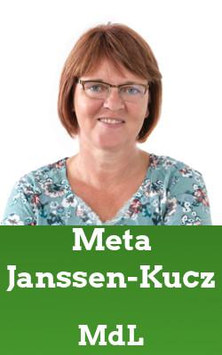 Grüne Vertreter*Innen: Meta Janssen-Kucz