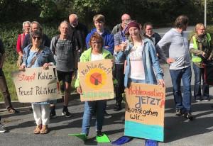 Kohleausstiegs-Demo