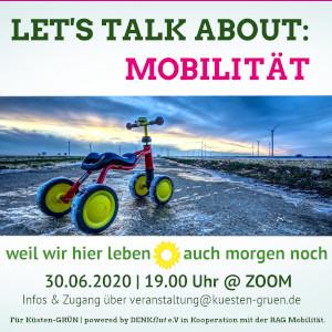 Let's Talk About: Mobilität @ Online (ZOOM)